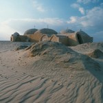 Desert hermitage on sands of the Wadi Natroun.