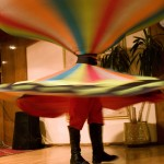 Whirling dervish performance on Nile cruiser