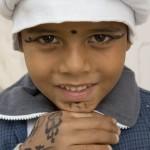 Henna adorned Egyptian lad