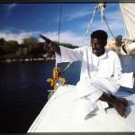 Nubian felucca sailor