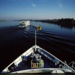 Luxury cruisers ply Nile waters