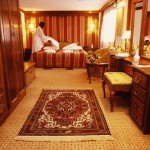 Luxury suite on Nile cruiser
