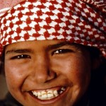 Friendly Bedouin boy