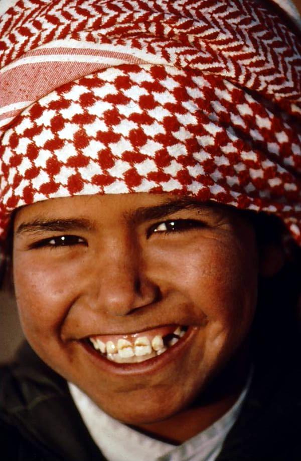 Friendly Bedouin boy