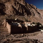 St. Catherine's at foot of Mt. Sinai