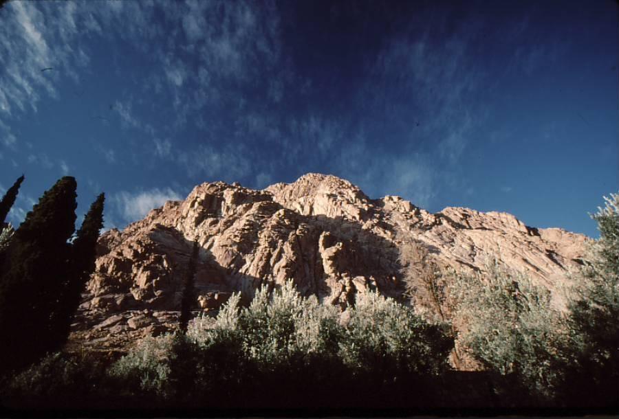 Sinai mountain peak