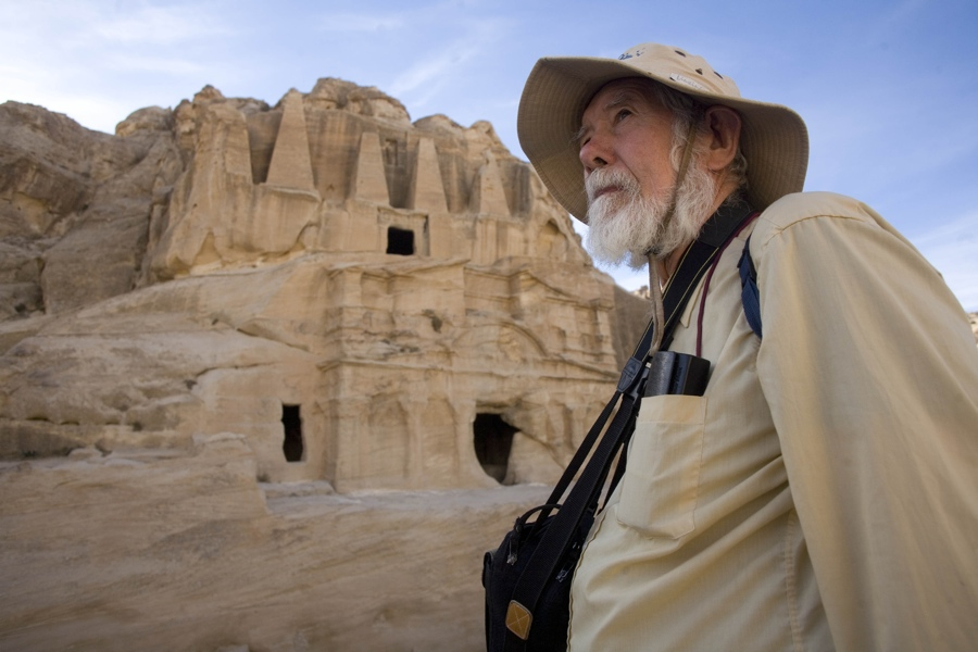 Adventurer at Obelisk Tombs