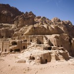 A village-like collection of tombs