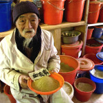 Legendary Dr. Ho displays his medicinal herbs